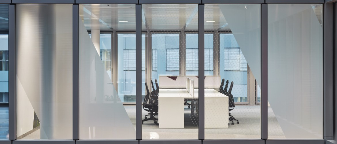 Decorbrand printed window film for office refurbishment