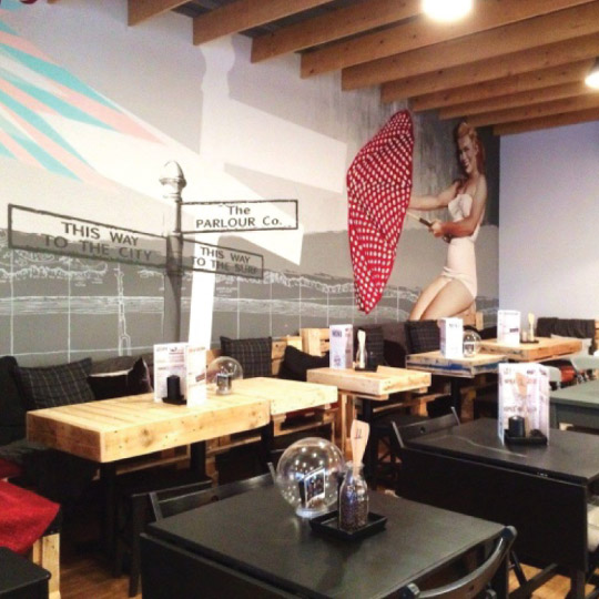 Interior restaurant fit out