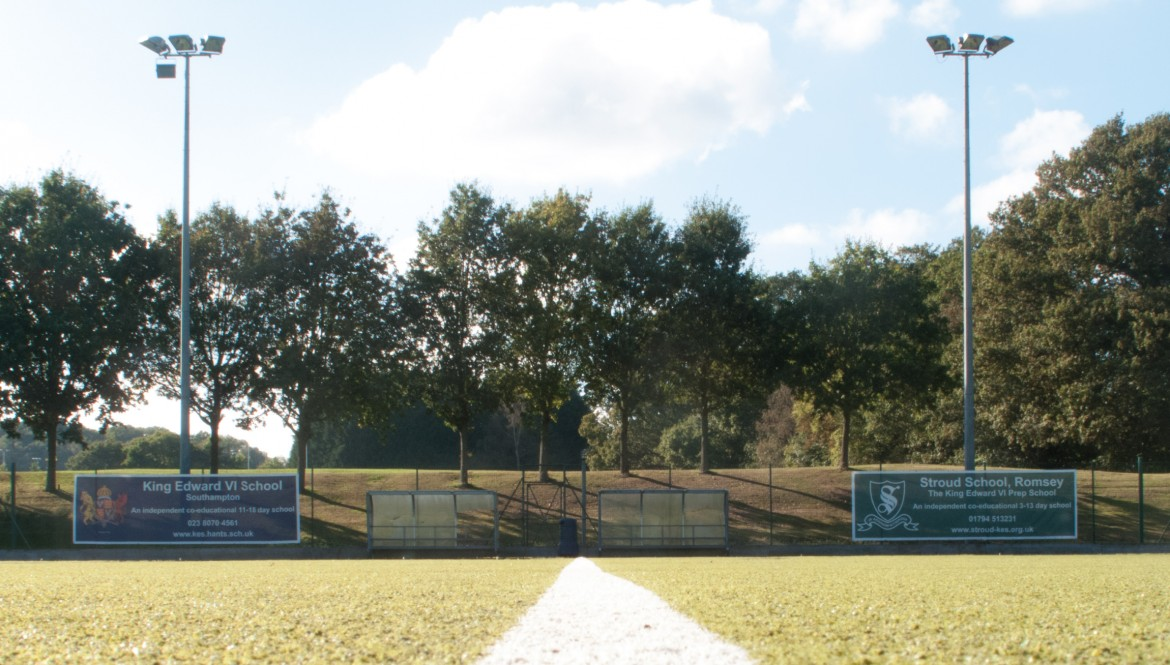 Digitally printed banners for Wellington Sports Ground Kind Edwards School