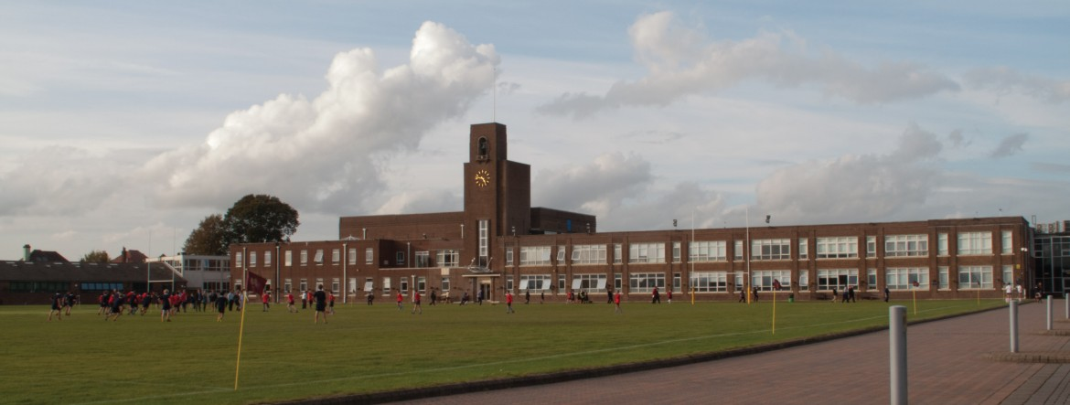 View of the King Edwards VI school premises