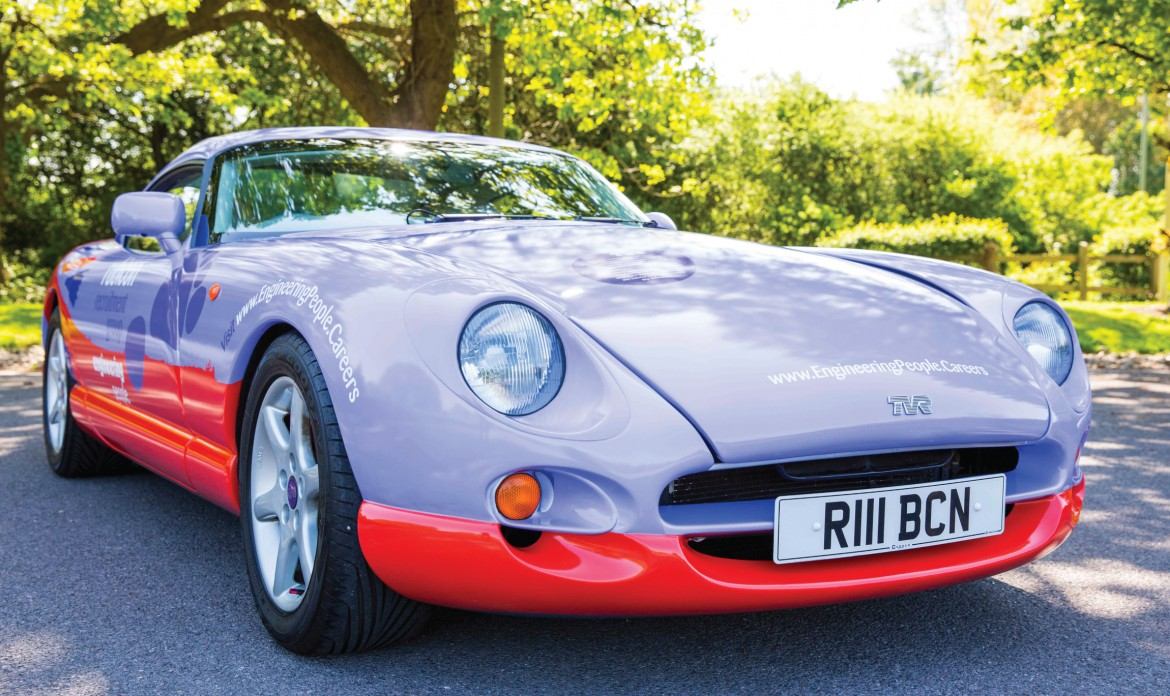 Digitally printed full wrap for Rubicon Recruitment Group TVR