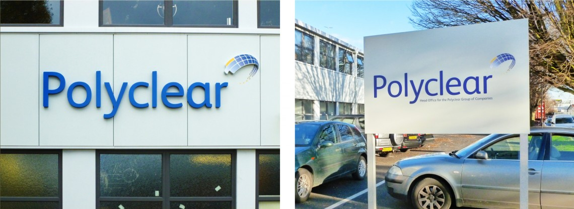 Polyclear-exterior-signs-for-retail-park