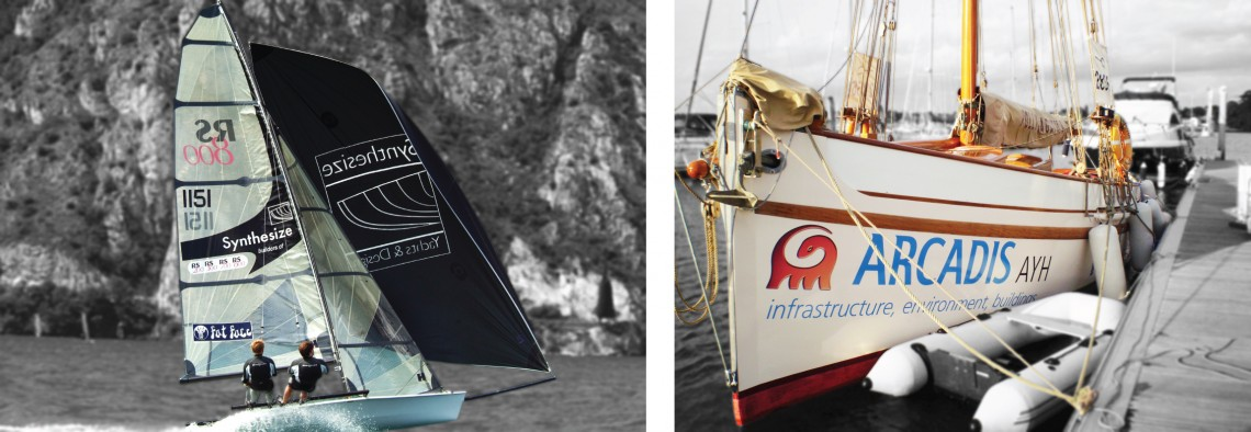 Yacht and sail graphics for RS boats & Arcadis