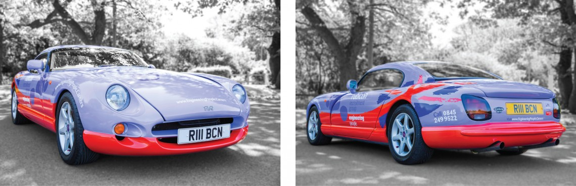 Vehicle wrap TVR for Rubicon