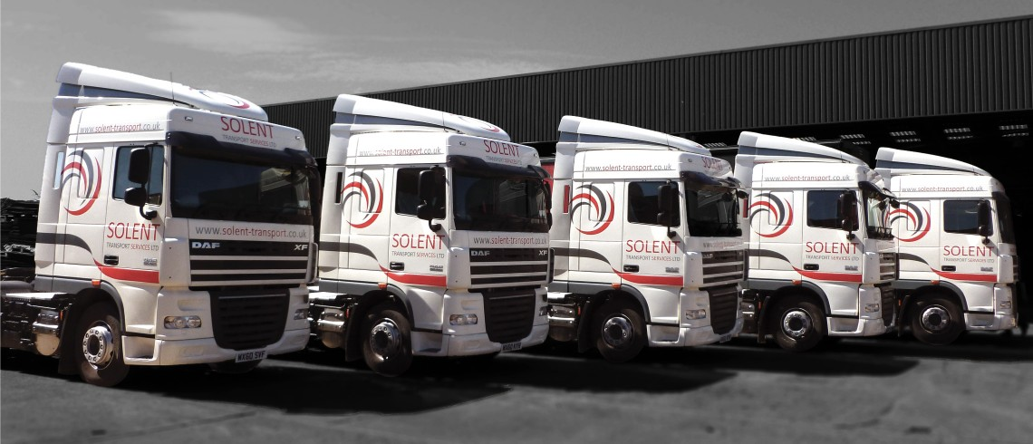 Solent Transport Services fleet vehicle graphics