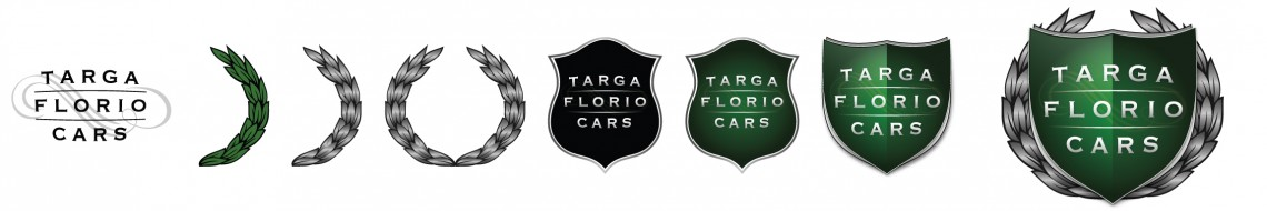 Targa florio logo design and creation